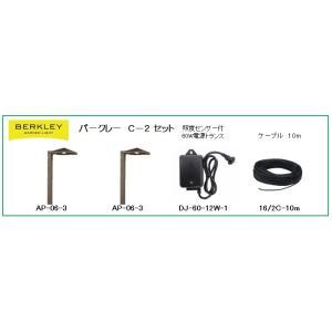 Berkley(バークレー) DIY用ガーデンライト C-2セット LEDアプローチライトセット 日曜大工|garden-fontana|02