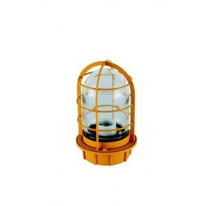 マリンランプ 船舶型照明 LEDカラーデッキライト IS-50YC-LEDC (黄・クリアガラス)|garden-fontana