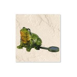 かわいいカエル ソーラーグッズ LZ306 フロッグ|garden-fontana
