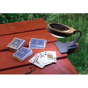 テーブルに固定OK ソーラーライト フレキシライト SS-3150|garden-fontana