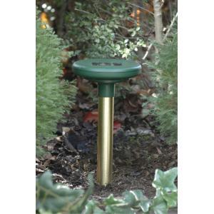 モグラや野ネズミ対策 ソーラーモーラー SS-90400 地中に音波を出して外敵を防ぐ|garden-fontana