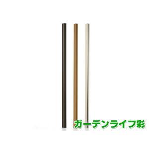 ウッディープラフェンス用支柱 高さ180cm用 MNO-P01W /MNO-P01N/MNO-P01D 樹脂製|garden-life-sai