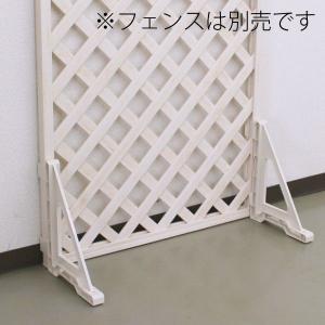 フェンススタンド 自立用 ウッディープラフェンス専用部品|garden-life-sai|03