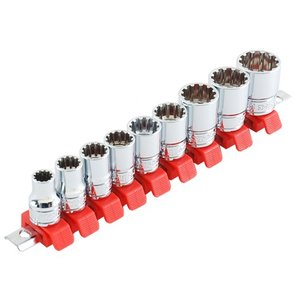 【特徴】 1サイズのソケットでミリ・インチ・トルクスなどの色々なネジに対応できます。 新型ソケットホ...