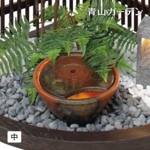 噴水 国産/天空の蛍 (中)/TEH-50/和風/メダカ/スイレン鉢/直送・代引不可|garden