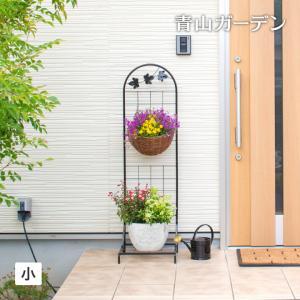 ハンギング アイアン/ハンギングスタンド アンティークリーフ(小)/NPM-HS3/DIY/園芸用/フラワーラック garden