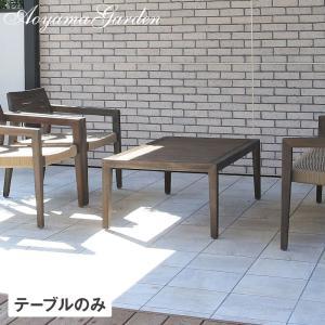 ガーデンテーブル 木製/ ミカド コーヒーテーブル TRD-T03 /アカシア/アンティーク/サイドテーブル/ファニチャー/庭 garden