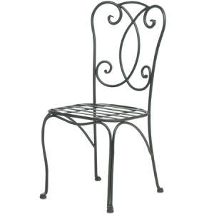ガーデンチェア スチール製/ ペテルビストロチェアー(クッション付) AXBC-0270WC /椅子/ダイニングチェア/おしゃれ/庭 garden