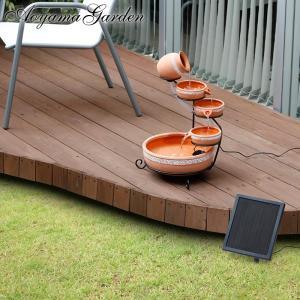 ファウンテン ソーラー/ソーラーファウンテン カスケード/STF-R01/噴水/池/庭池/水槽|garden