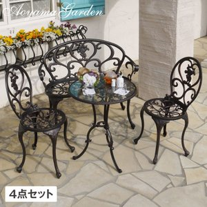 ガーデンテーブル/ ファンタジアテーブル 4点セット TD-F01/F02 /ディズニー/Disney/ミッキー/disney_y garden