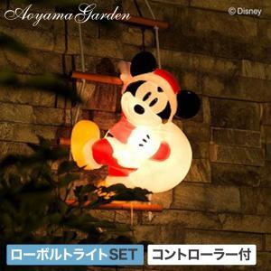 イルミネーション ガーデンライト/ブローライト はしごミッキーマウス1ピース/TD-3D30LGT/Disney/クリスマス/サンタ|garden