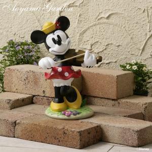 ディズニー  ガーデンスタチュー音楽隊 ミニーマウス/disney_y|garden