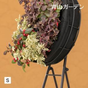 ハンギング リース 鉢 プランター 寄せ植え ガーデニング タカショー / フェルト ハンギングリースS /A