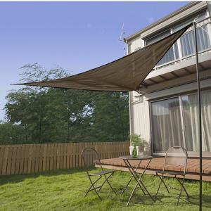 日よけ シェード/イージーシェードセイル モカ 3m/CSS-T3M/UVカット/庭/ガーデン/遮光|garden