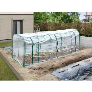 ビニール温室 野菜/ ベジタブル温室セットL ...の詳細画像1