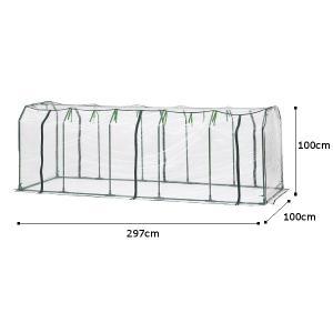 ビニール温室 野菜/ ベジタブル温室セットL ...の詳細画像2