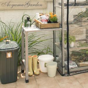 ガーデニング テーブル/ウッドシェルフ用 作業台/VGT-ST01/棚/庭/ベジトラグ garden