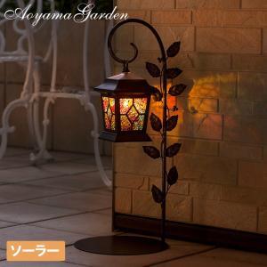 ソーラーライト LED/ソーラー モザイク ランタンライト LGS-65/屋外/充電式/庭/ガーデンライト/ステンドグラス/ハロウィン|garden