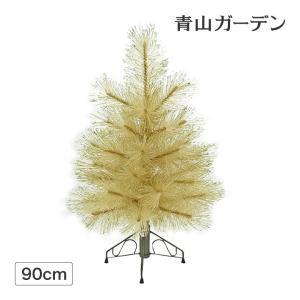 クリスマスツリー 人工植物/グリッターパイン ハーフツリー ...