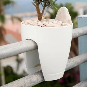 ポイント最大10倍/イスラエル生まれのデザインプランター グリーンボ ホワイト ガーデニング 雑貨 園芸用品 用具 通販|garden