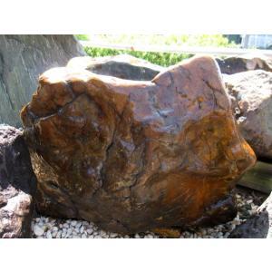 木化石 水鉢 つくばい 珪化木 手水鉢 庭石 蹲 景石 ...