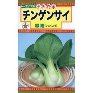 【種子】中国野菜 チンゲンサイ 緑陽(りょくよう) トーホクのタネ
