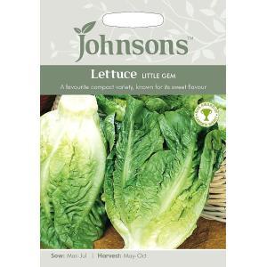 【輸入種子】 Johnsons Seeds Lettuce Little Gem レタス・リトル・ジェム ジョンソンズシード