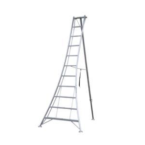 アルミ三脚 11尺 KWX-330 330cm 3.3m 脚立 踏み台 56051|gardenmate