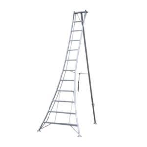 アルミ三脚 12尺 KWX-360 360cm 3.6m 脚立 踏み台 56052|gardenmate