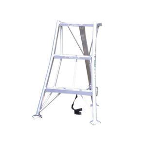 アルミ三脚 3尺 KWX-90 90cm 0.9m 脚立 踏み台 56043|gardenmate
