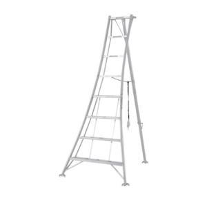 アルミ三脚 7尺 KWX-210 210cm 2.1m 脚立 踏み台 56047|gardenmate