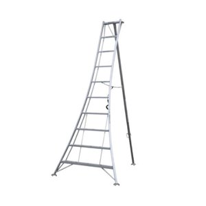 アルミ三脚 9尺 KWX-270 270cm 2.7m 脚立 踏み台 56049|gardenmate