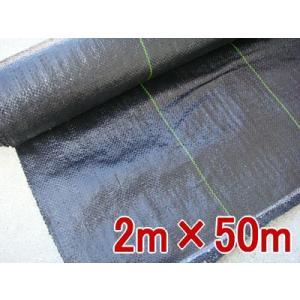 防草シート(草よけ) 2m×50m 抗菌剤入り 55262 / 農業 園芸|gardenmate