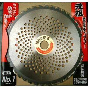 草刈りチップソー めちゃかる 255mm 55400 / 草刈 農業|gardenmate