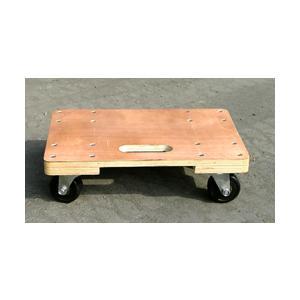 台車 【6台セット】木製平台車 TC-4530 45cm×30cm 55428 gardenmate