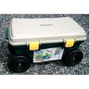 腰掛作業車 らくらくカート TC4460 55864 / 園芸 作業車 gardenmate