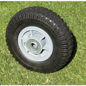 アルミカート・ハウスカー用 8インチノーパンクタイヤ プラホイール付き 55880|gardenmate