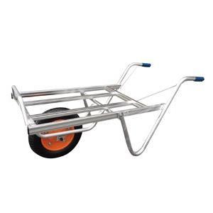 ◆法人様限定お届け◆一輪車 / アルミ平型一輪車 コンテナ2個用 TC-1011 ネコ 55887 gardenmate
