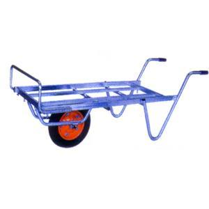 ◆法人様限定お届け◆ 一輪車 / アルミ平型一輪車 コンテナ3個用 TC-1012 ネコ 55888 gardenmate