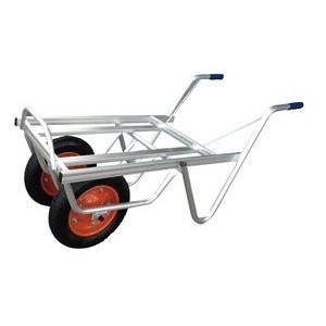 ◆法人様限定お届け◆ 一輪車 / アルミ平型二輪車 コンテナ2個用 TC-2402 ネコ 55889 gardenmate