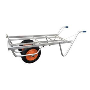 ◆法人様限定お届け◆ 一輪車 / アルミ平型二輪車 コンテナ3個用 TC-2403 ネコ 55890 gardenmate