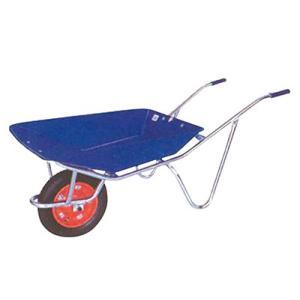 ◆法人様限定お届け◆ 一輪車 / アルミフレームの一輪車 プラ皿付 WB2709AL ネコ 55891 gardenmate