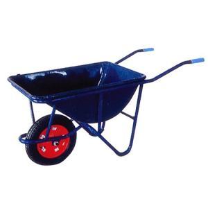 ◆法人様限定お届け◆ 一輪車 3才紺 深型 WB3502 ネコ 55893 gardenmate