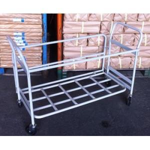 折りたたみパイプ椅子収納台車 20脚収納 55935|gardenmate