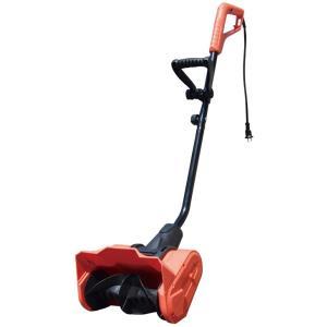 電動除雪スコップ KT1020-R 57190 / 雪スコ 雪かき スコップ gardenmate