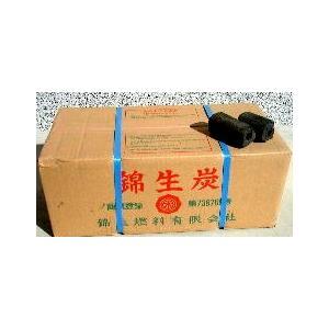オガ炭 10kg 錦生炭 (国産) 56181|gardenmate