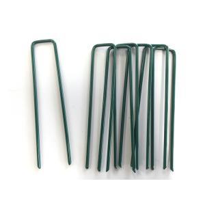 マツモト 人工芝おさえピン グリーン 10本(10P×1袋入り) 57181 芝 ガーデン ガーデンターフ|gardenmate