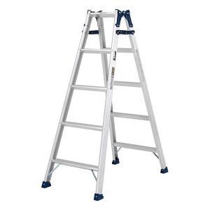 ステップ幅広兼用脚立 MXA150W 150cm 57363|gardenmate