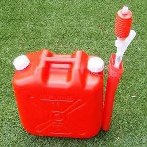 灯油缶18L+ポンプケース+灯油ポンプの3点セット 56296 / 灯油容器 ポリタンク|gardenmate