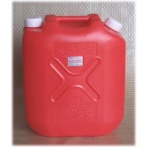 プラスチック灯油容器 18L 赤 56300 / 灯油容器 ポリタンク|gardenmate